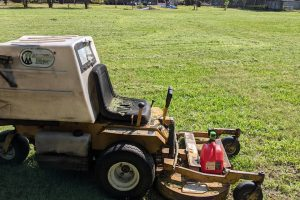 lawn mower for commercial property maintenance